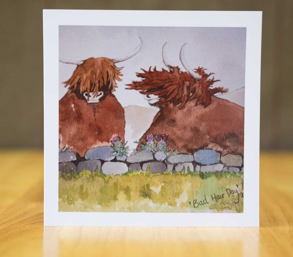 Bad Hair Day - Card