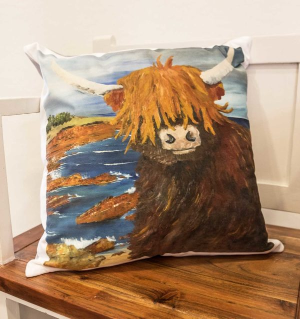 Big Cow Cushion