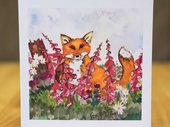 Fox Gloves - Card