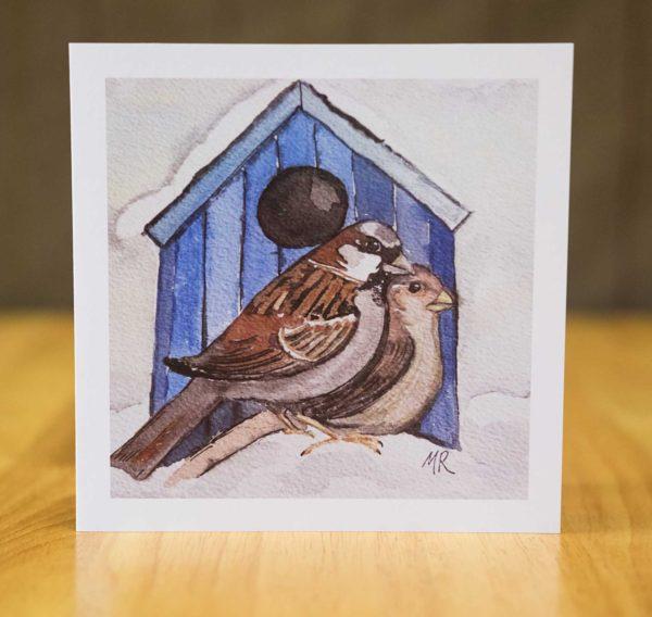 Mr & Mrs Sparrow Card