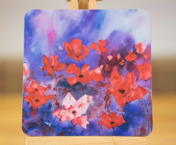Poppies - Coaster