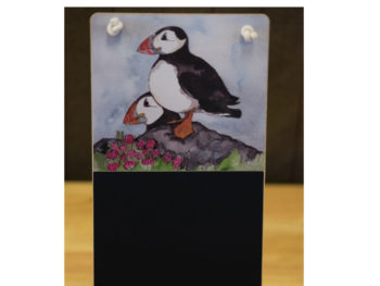 Puffins on the Lookout Chalkboard