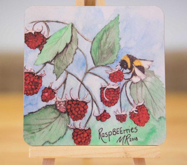 RaspBEErries - Coaster