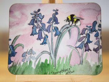 Spring Blues - Coaster