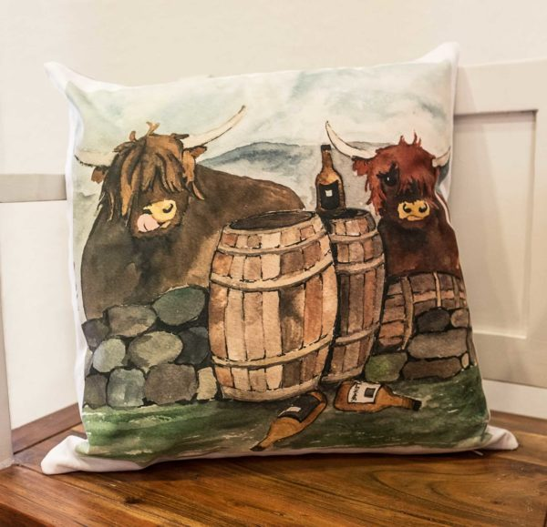 Whisky Galore Cushion