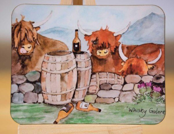 Whisky Galore - Coaster