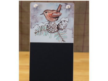 Winter Wren Chalkboard