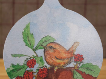 Baby Wren - Chopping Board