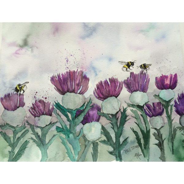 BEE Stings Print
