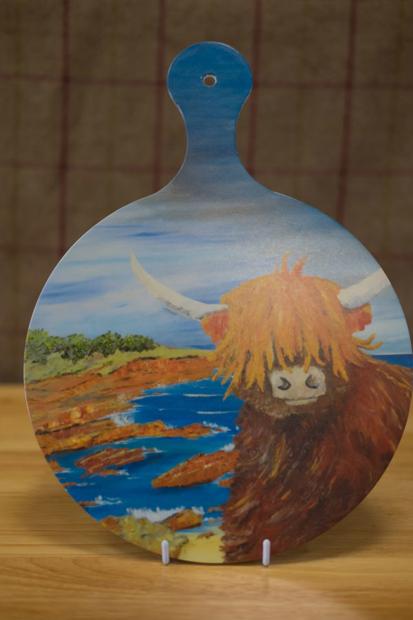 Big Cow - Chopping Board