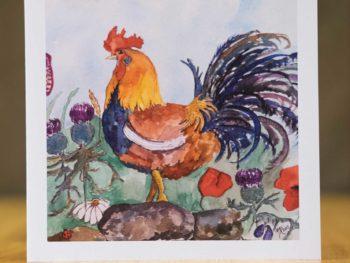Cockerel - Card