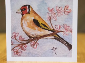 Goldfinch - Card