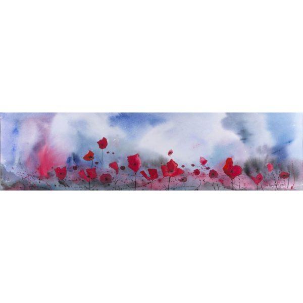 Poppy Line Print