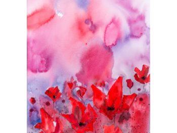 Poppy Sunset Print