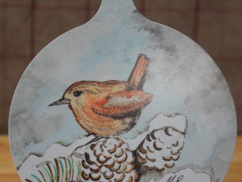 Winter Wren - Chopping Board
