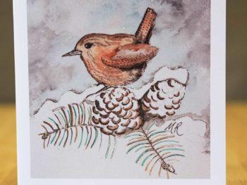 Winter Wren - Card