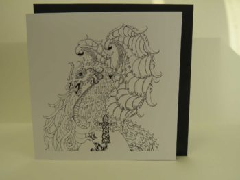 Celtic Dragon - Card