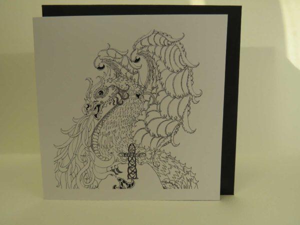 Celtic Dragon - Card
