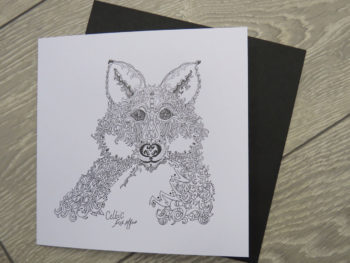 Celtic Fox - Card