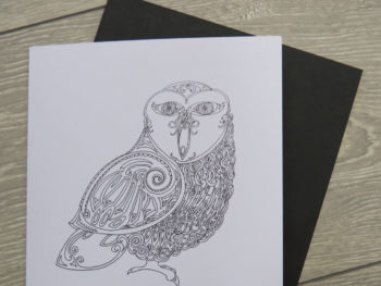 Celtic Owl - Card