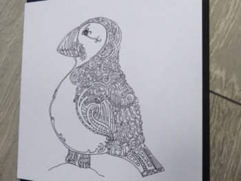 Celtic Puffin - Card