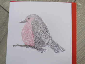 Celtic Robin - Card