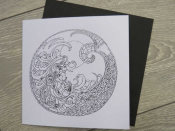Celtic Mermaid - card