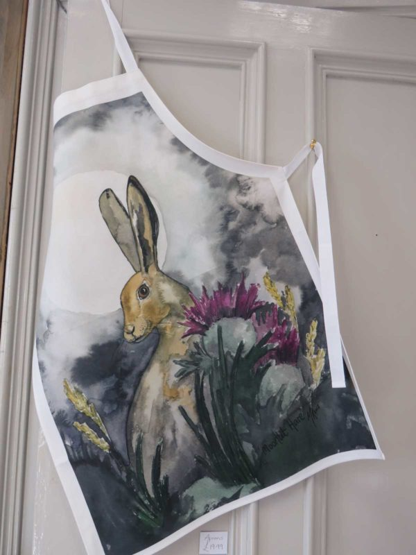 Moonlit Hare - Apron