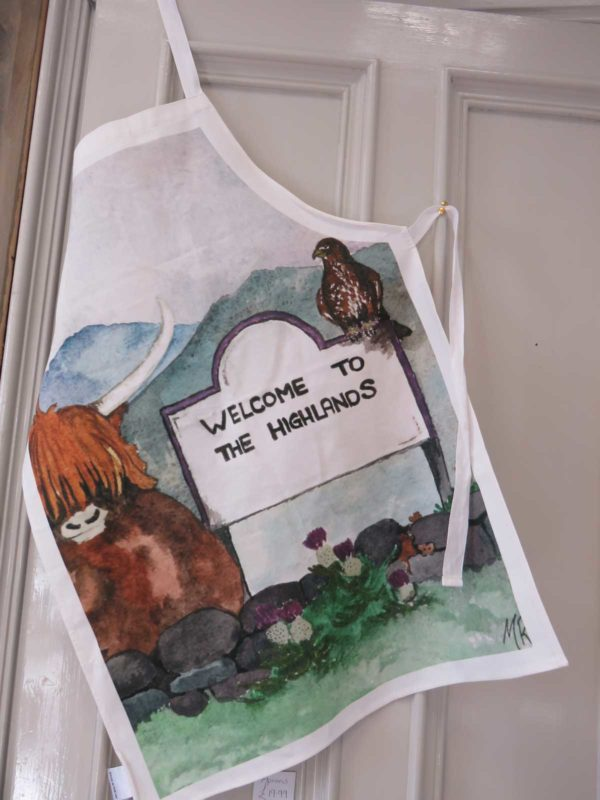 Welcome to the Highlands - Apron