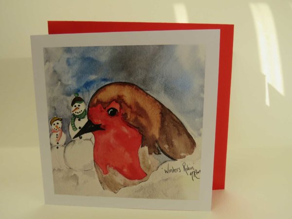 Winters Robin - Card